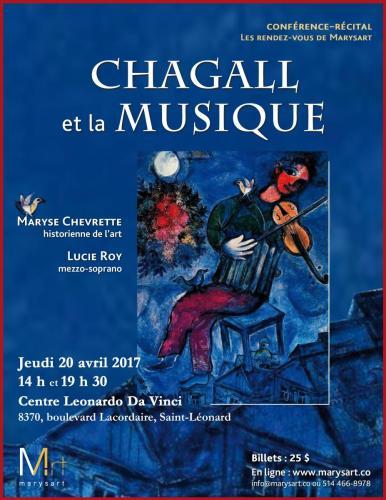 Marysart : Chagall 2017
