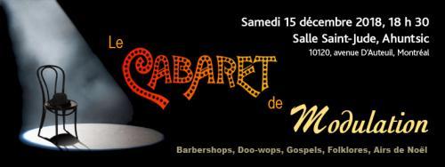 MODULATION : Cabaret de Noël 2019