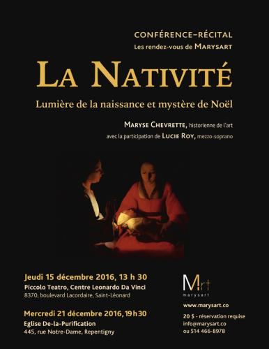 Marysart : La nativité 2016