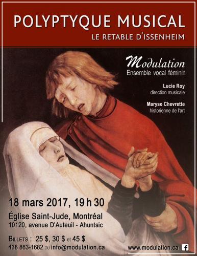 MODULATION : Polyptyque musical 2017